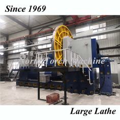 Metal Vertical Lathe Machine , Industrial Metal Turning Lathe Double Columns